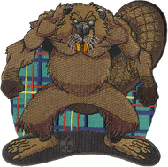 Wood Badge Tough Beaver Critter Patch