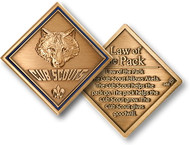 Cub Scout - Law of the Pack Coin