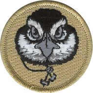 Official Licensed Wood Badge Bobwhite with Beads Patrol Patch