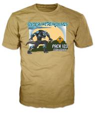 Custom Cyber Werewolves Pack Patrol T-Shirt (SP6904)
