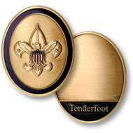 Tenderfoot Scout Rank Coin