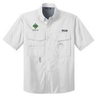 Eddie Bauer® – Short Sleeve Fishing Shirt  with Venturing Logo