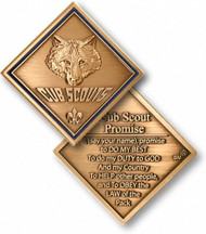Cub Scout Promise Coin