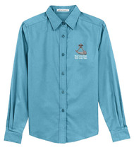 Port Authority® Ladies Long Sleeve Easy Care Shirt with Powder Horn Logo