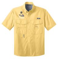Eddie Bauer® – Short Sleeve Fishing Shirt  with Powder Horn Logo