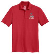 Double Pique Sport Shirt – Mens with Powder Horn Logo