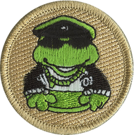Biker Frogs Patrol Patch