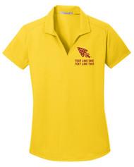 Dry Zone® Grid Ladies Wicking Polo with OA Arrowhead Logo