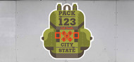 Custom Cub Scout Pack Backpack Trailer Graphic (SP6987)