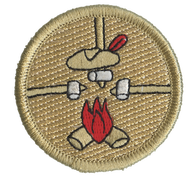Three Roasting Marshmallows Patrol Patch