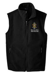 Port Authority® Fleece Vest with  Sea Scout Logo