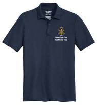Double Pique Sport Shirt – Mens with Sea Scout Logo