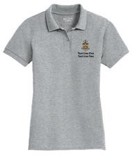 Double Pique Sport Shirt – Ladies with Sea Scout Logo