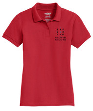 Double Pique Sport Shirt – Ladies with Exploring Logo