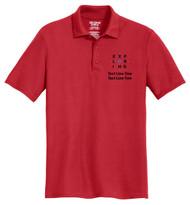 Double Pique Sport Shirt – Mens with Exploring Logo