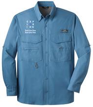 Eddie Bauer® – Long Sleeve Fishing Shirt  with Exploring Logo