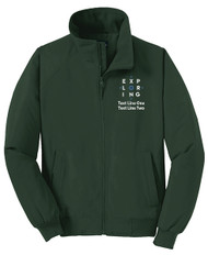 Port Authority® Charger Jacket with Exploring Logo