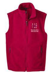 Port Authority® Fleece Vest with Exploring Logo