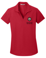 Dry Zone® Grid Ladies Wicking Polo with Sea Base Logo