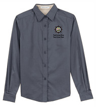 Port Authority® Ladies Long Sleeve Easy Care Shirt with Sea Base Logo