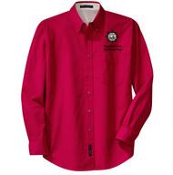 Port Authority® Long Sleeve Easy Care Shirt Men's with Sea Base Logo