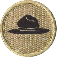Ranger Hat Patrol Patch
