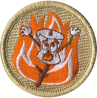 Roasted Marshmallow Patrol Patch