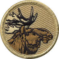 Official Licensed Moose Head Patrol Patch