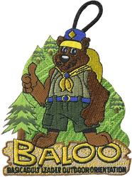 Baloo Trained Patch