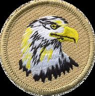 Bald Eagle Head Patrol Patch