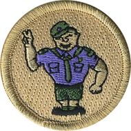Scout Salute Patrol Patch