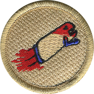 Bullet Proof Patrol Patch