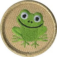 Smiling Frog Patrol Patch