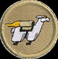 Flying Llamas Patrol Patch