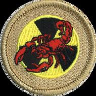 Red Radioactive Scorpion Patrol Patch