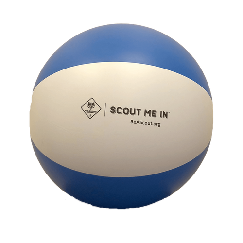 Get ready for a day in the sun with this 24 in beach ball!