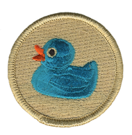Blue Rubber Ducky Patrol Patch