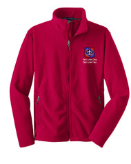 Boy Scouts Red Fleece Jacket with BSA NYLT Logo