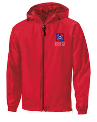 Boy Scouts Red Sport Tek Jacket with NYLT Logo