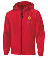Boy Scouts Red Sport Tek Jacket with Cub Scout Logo