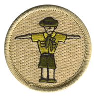T Pose Scout Patrol Patch