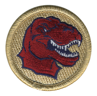 Red Raptor Patrol Patch