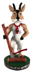 Wood Badge Antelope Critter Bobblehead