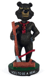 Wood Badge Bear Critter Bobblehead