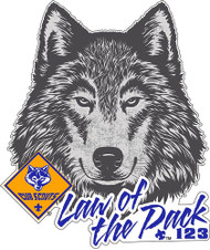Custom Cub Scout Pack Akela Law of the Pack Car Sticker (SP5418)