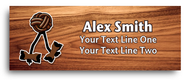 Wood Badge Beads Nametag