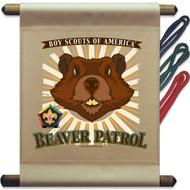 Wood Badge Beaver Patrol Mini Flag (SP5144)