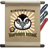Wood Badge Bobwhite Patrol Mini Flag (SP5142)