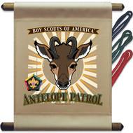 Wood Badge Antelope Patrol Mini Flag (SP5137)