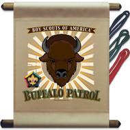Wood Badge Buffalo Patrol Mini Flag (SP5140)